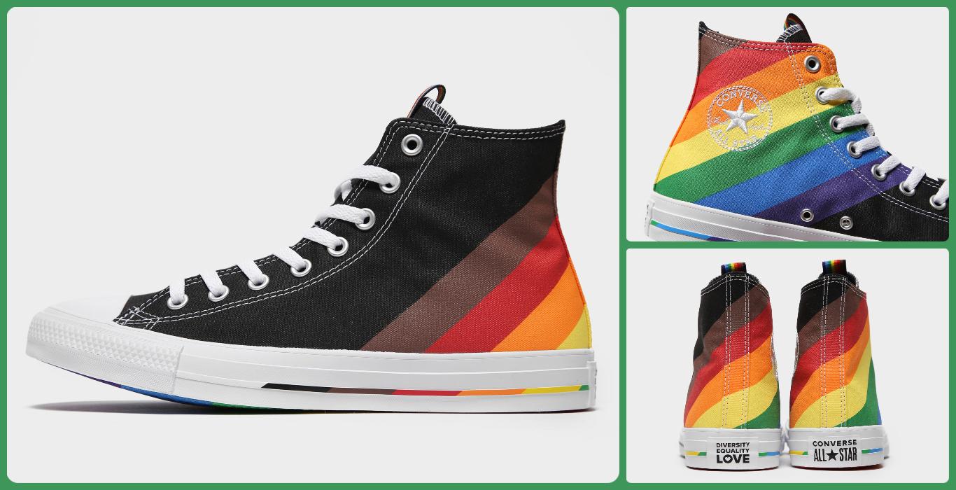 Converse negras del Orgullo Gay 2020