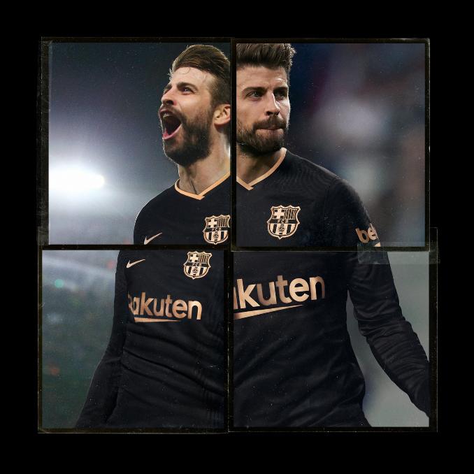 maglie FC Barcelona 2020-21 nero