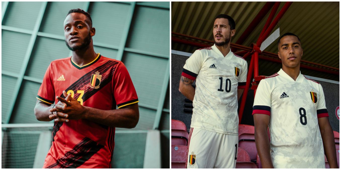Maglie da calcio del Belgio