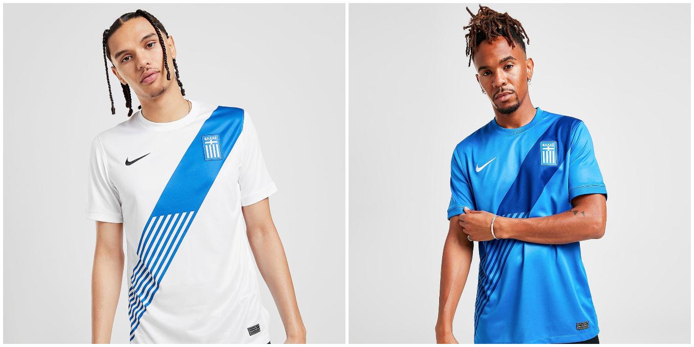 Prima e seconda maglia da calcio della Grecia