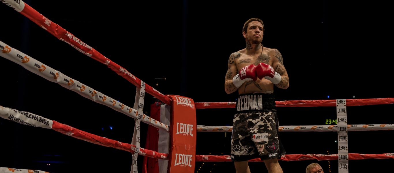 Boxeador Jon Miguez