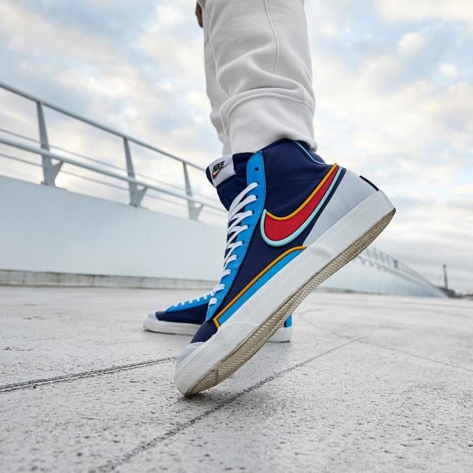Nike Blazer azuis