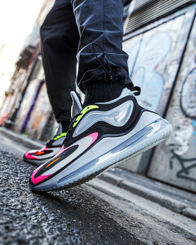 Nike Air Max Zephyr on feet