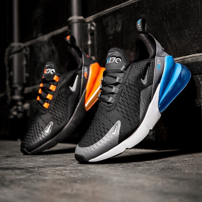 Várias cores das Nike Air Max 270