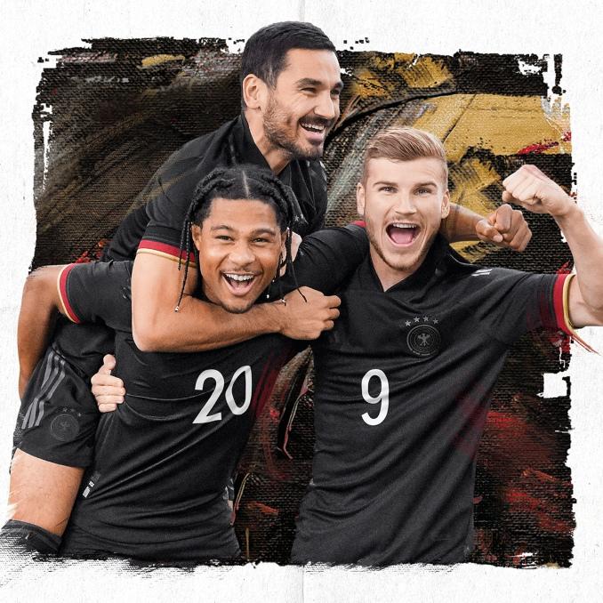 Segunda equipación de la selección de fútbol de Alemania 2021