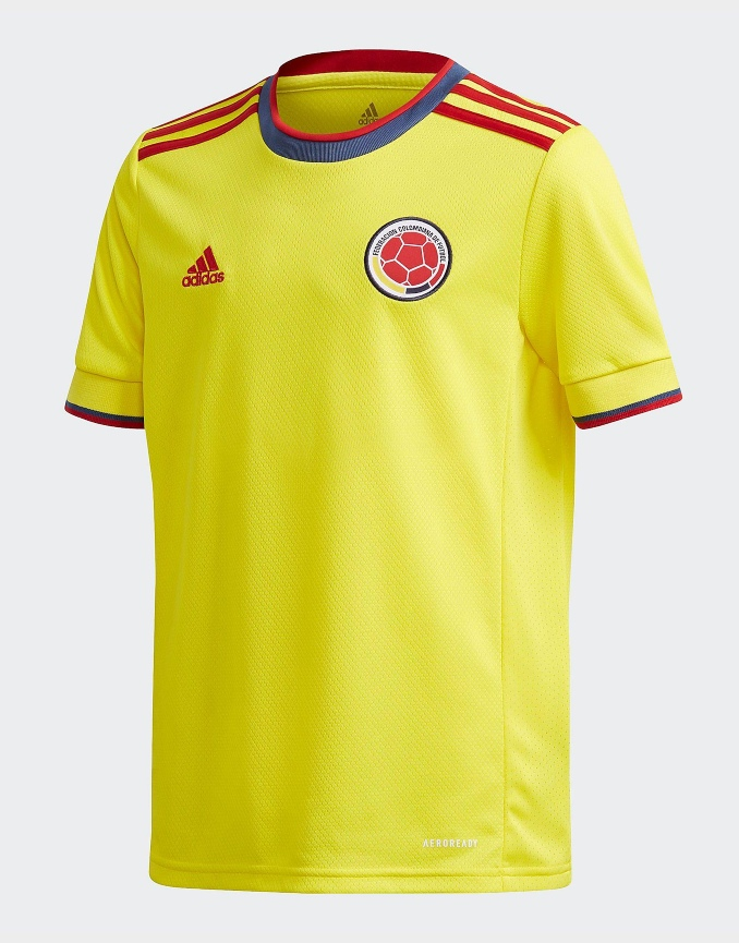 Camiseta selección Colombia 2021