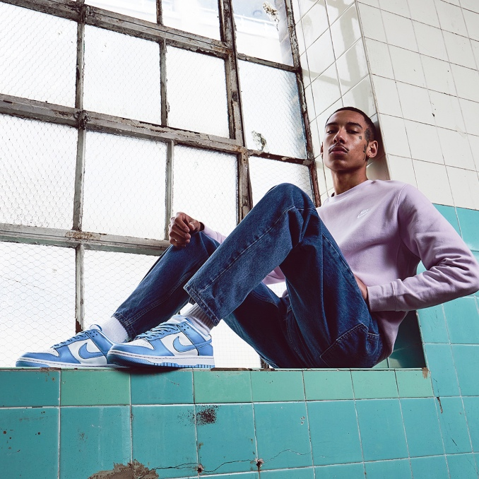 Nike Dunk White University Blue