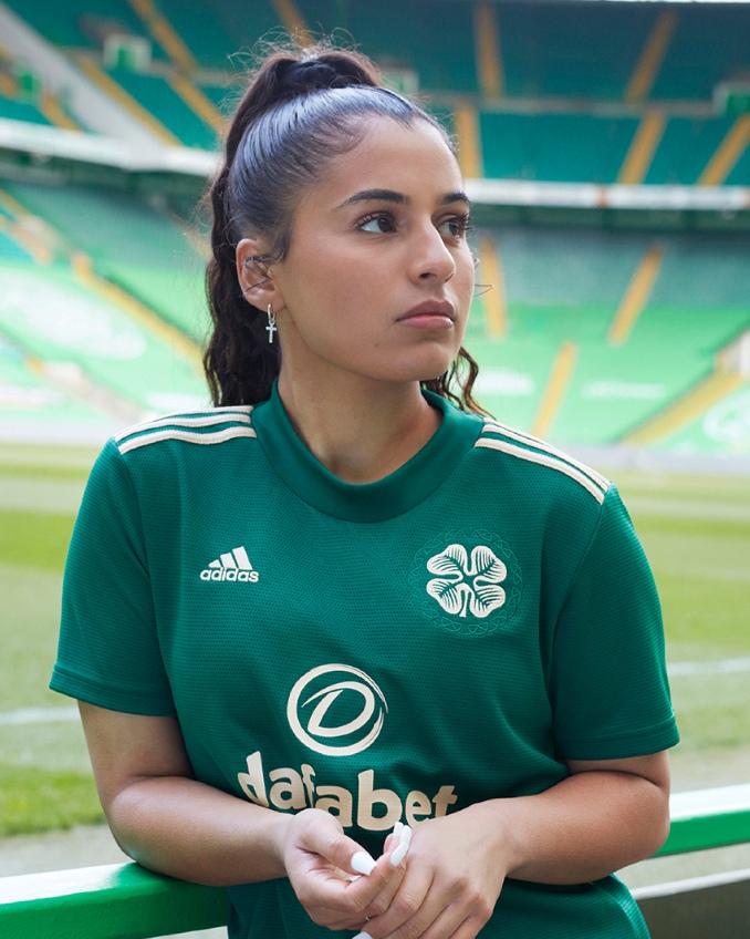 Segunda Camiseta Celtic 21-22 de mujer