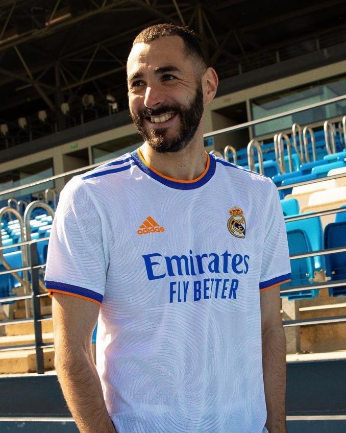 Camiseta del Real Madrid para 2021 y 2022