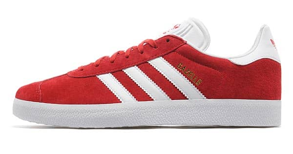 4396c41f8337 adidas Originals Gazelle Red